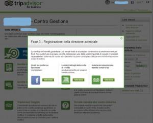 verifica identità TripAdvisor