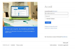 Registrazione Account Windows