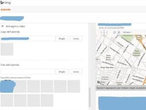 Completare Info su Bing Places