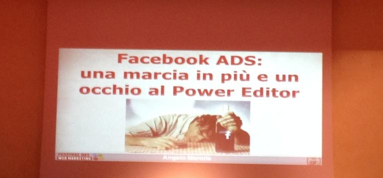 facebook ads e power editor festival web marketing 2014