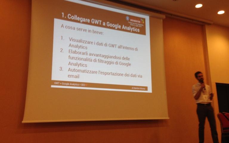 google analytics e webmaster tool martino mosna